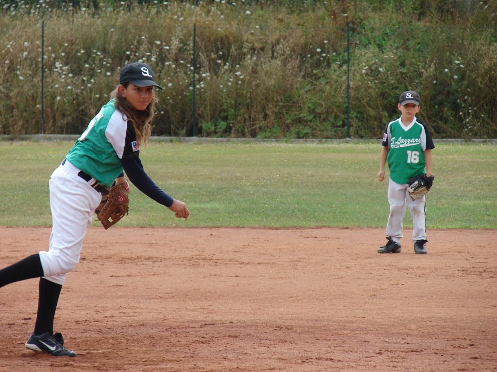 Tuscany series 2010, Arezzo, uno di quei tornei in cuiNiccolò Clemente, oggi ai Boston Red Sox, venne con noi. Sullo sfondo Speedy